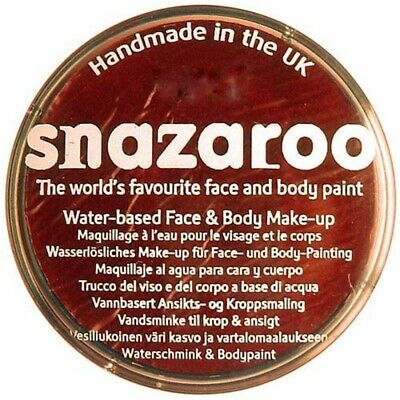 Snazaroo 75ml Pot Body And Face Paint (rust Brown) - 75ml Rust Brown