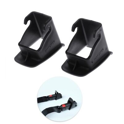 Car Baby Seat 1 Pair  ISOFIX Latch Belt Connector Plastic Guide Groove