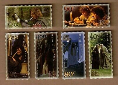 2001 New Zealand Lord of The Rings SG 2458/63 Set 6 MUH