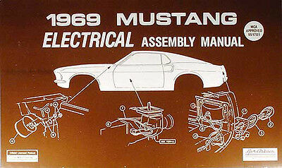1969 FORD MUSTANG Elektrisch Montage Manuell Wiring Diagrams ...  Ford Wiring Diagram on