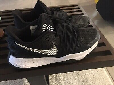 best website 7871f b9973 2018 MENS NIKE Kyrie 4 Low SZ 9.5 Black Metallic Silver AO8979-003