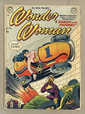 Wonder Woman (1st Series DC) #42 1950 GD+ 2.5