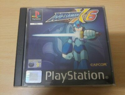 Megaman X6 (Sony Playstation ps1 ps2) PAL España ps1 psone ps2 ps3