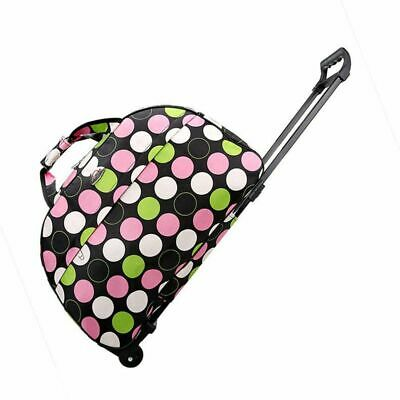 """21"""" Rolling Trolley Bag Wheeled Duffle  Tote Carry On Travel Luggage  Lighweight"""