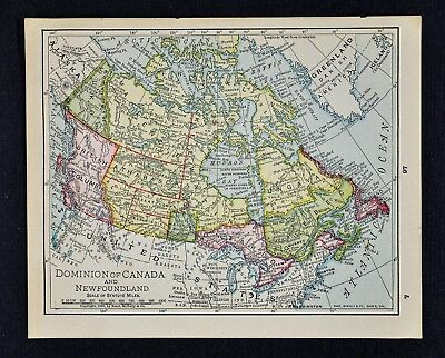 1868 ATWOOD MAP - Physical Geography United States of ...