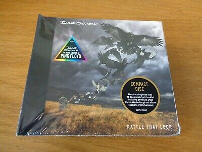David Gilmour - Rattle That Lock  - Digibook   [CD]  New!,free postage uk