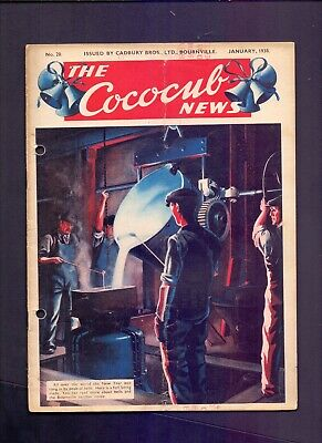 16 Page The Cococub News No 20,issued by Cadbury Bournville January 1938  (YT1)