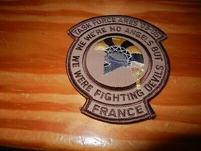 OPEX      AFGHA      TASK   FORCE    ARES   03 - 06       patch B.V. sur scratch