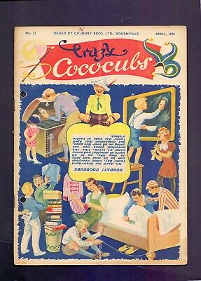 16 Page The Cococub News No 23,issued by Cadbury Bournville April 1938  (YT1)