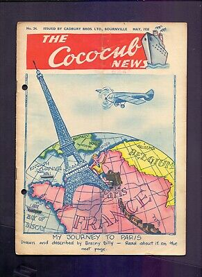 16 Page The Cococub News No 24,issued by Cadbury Bournville MAY 1938  (YT1)