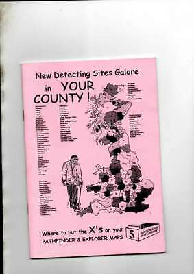 Metal Detecting Book New Detecting Sites Galore  Regton Shoebox Library No 5