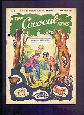 16 Page The Cococub News No 32,issued by Cadbury Bournville Mar-April 1939 (YT1)