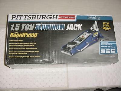 NEW Pittsburgh Automotive 1.5 Ton Professional Low Profile Aluminum Racing Jack