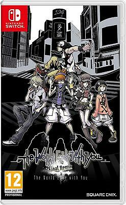 The World Ends With You: Final Remix (Nintendo Switch) New Sealed PAL