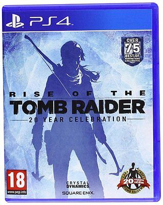 Rise of the Tomb Raider: 20 Year Celebration (PS4) New Sealed PAL