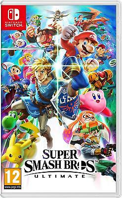 Super Smash Bros - Ultimate (Nintendo Switch) New Sealed PAL