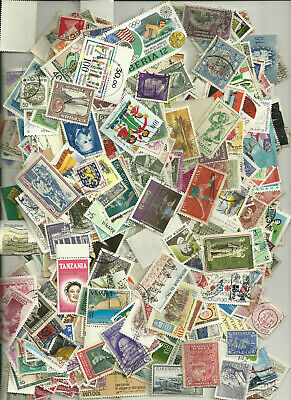 500 Worldwide Stamps,  All Different, No Us 36