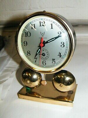 Vintage Chinese Double Bell Clock  Gwo