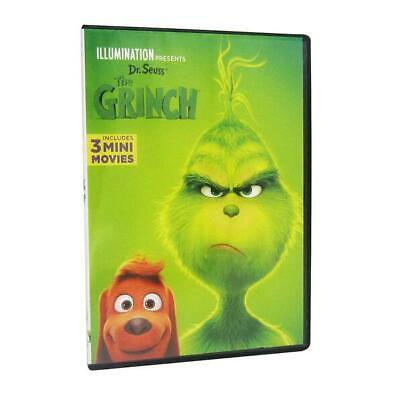 The Grinch( DVD2018 1-Disc Set) Brand New Sealed