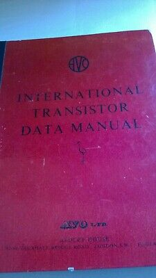Hard back AVO Transistor analyser data book.second edition,3rd printing.Clean.