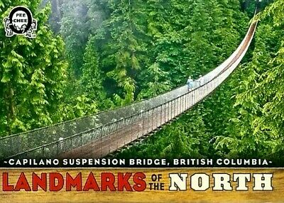 2018-19 Upper Deck Opc Canadian  Tire* Landmarks Of The North* British Columbia