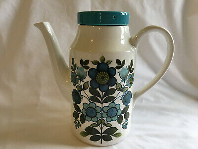 Midwinter Romany Coffee Pot by John Russell Vintage Retro