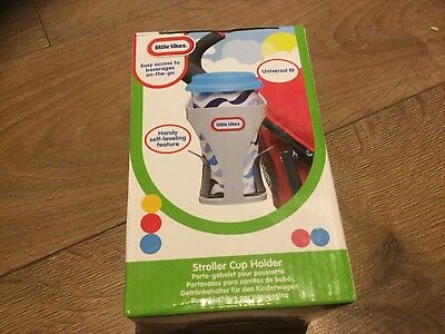 Little Tikes Stroller Pushchair Cup Holder Universal Fit Easy Access