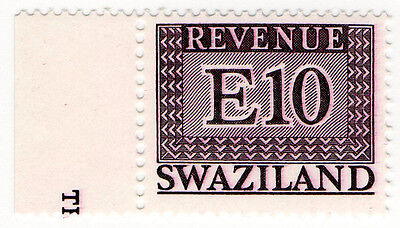 (I.B) Swaziland Revenue : Duty E10