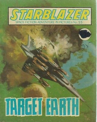 Target Earth,starblazer Space Fiction Adventure In Pictures,comic,no.55