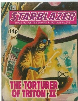 The Torturer Of Triton Ii,starblazer Space Fiction Adventure In Pictures,no.54