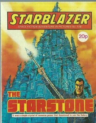 The Starstone,starblazer Space Fiction Adventure In Pictures,comic,no.116