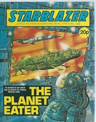 The Planet Eater,starblazer Space Fiction Adventure In Pictures,comic,no.123