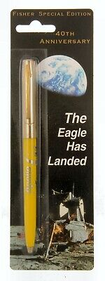 Fisher Space Pen #S251G-40 Special Edition / Apollo Series Pen in Yellow & Gold