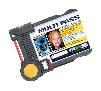 The Fifth Element Leeloo Dallas Multi Pass Badge Holder Loot Crate Exclusive