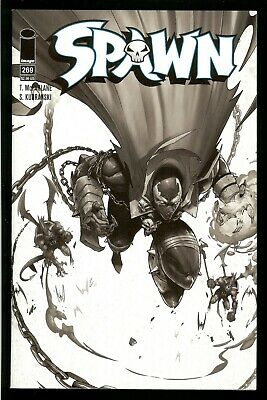 Spawn #269 NM ~ **McFarlane Black /& White Sketch Variant Cover** ~ *HOT BOOK!!
