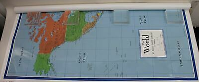 SWIFTMAPS World Classic Elite Series Miller Projection 48x78 Large Wall Map NEW