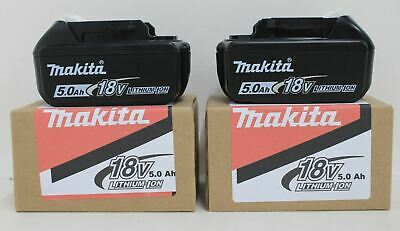 2 x BNIB MAKITA BL1850B Rechargeable 18V 50Ah 90Wh Li-ion Power Tool Battery