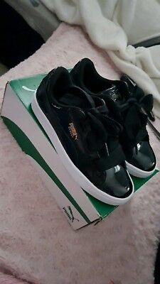 reputable site ca59d 1f78f CHAUSSURES FEMMES SNEAKERS PUMA BASKET HEART PATENT pointure 37