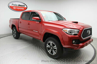 2018 Toyota Tacoma TRD Sport Double Cab 5' Bed V6 4x4 MT