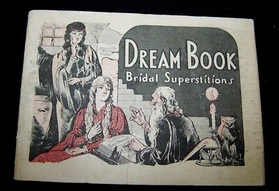 1920's DREAM BOOK-BRIDAL SUPERSTITIONS-DR PIERCE'S MEDICAL REMEDY-WOMEN-BUFFALO