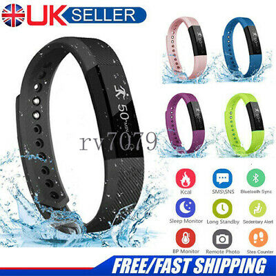 Fitness Smart Watch Activity Tracker For Mens Womens Kids Fitbit For Android iOS