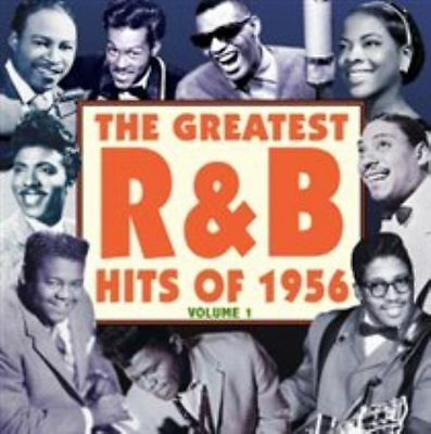 The Greatest R&B Hits of 1956 Vol. 1, Various Artists, New,  Audio CD, FREE & Fa