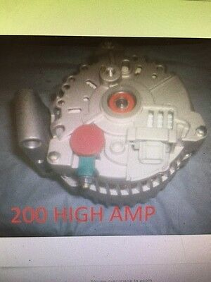 HIGH AMP ALTERNATOR 2006-2005 2004 Ford E Series F Series Van 6.0L Excursion 6.0