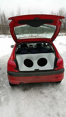 Peugeot 206 Audio Box / Kofferraumausbau / Soundbox / Soundboard