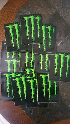 lot stickers 15 Griffes Monster Energy