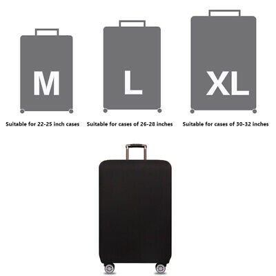 """22""""-32"""" Travel Luggage Cover Protector Suitcase Dust Proof Bag Anti Scratch Bag"""