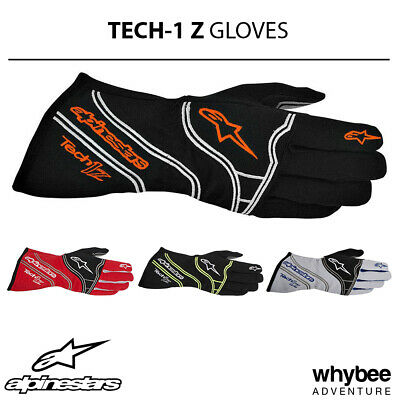 3550014 Alpinestars TECH-1 Z Fireproof Gloves for Race Rally Motorsport FIA