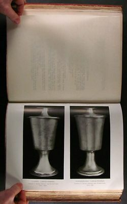 Antique Welsh Sterling - Church Silver in Bangor Diocese Wales - 1906 Book