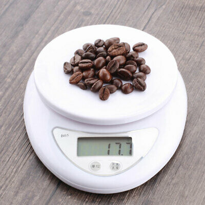 Digital 5kg Kitchen LCD Electronic Household Food Cooking Scales Weighing Useful