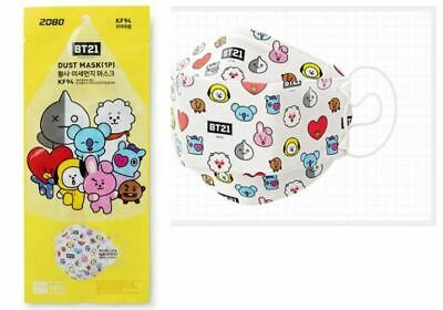 BT21 Official Goods Line Friends 2080 Dusk Mask KF94 BT21 Character KF94
